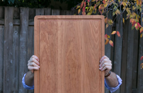 diy cutting board for carving a turkey
