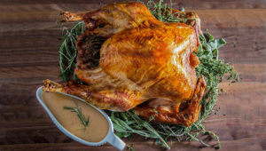 Fact: The Upside-Down Method will Produce the Juiciest Turkey You've Ever Tasted
