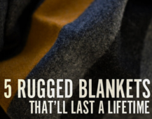 Keeping Warm: 5 Masculine Blankets Worth the Investment