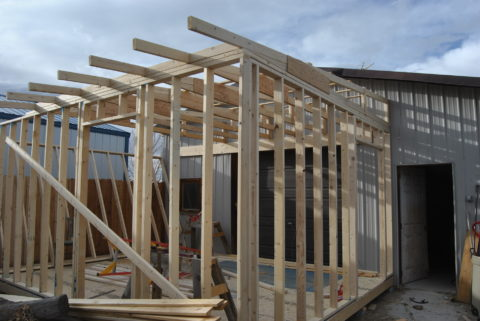 green house framing