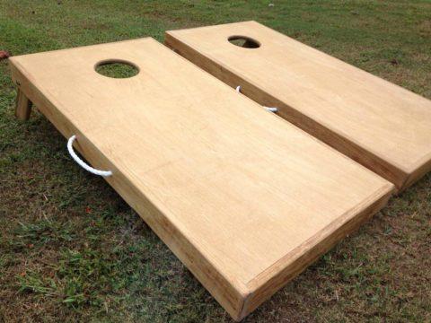 cornhole board corn hole handles