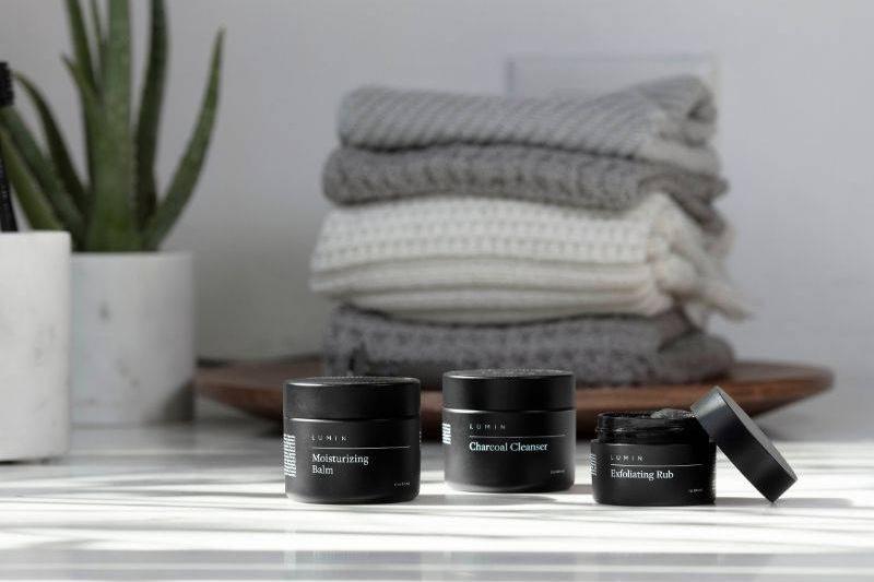 Product shot of Lumin Skincare Starter Pack