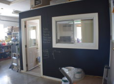 A Chalkboard Wall Is Our Favorite New Addition To The Workshop
