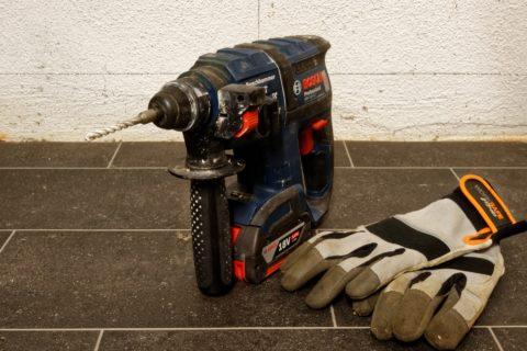 battery powered impact drill