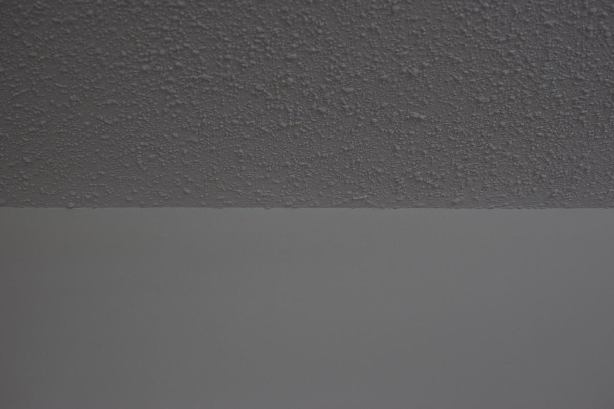 scraped vs not scraped popcorn ceiling