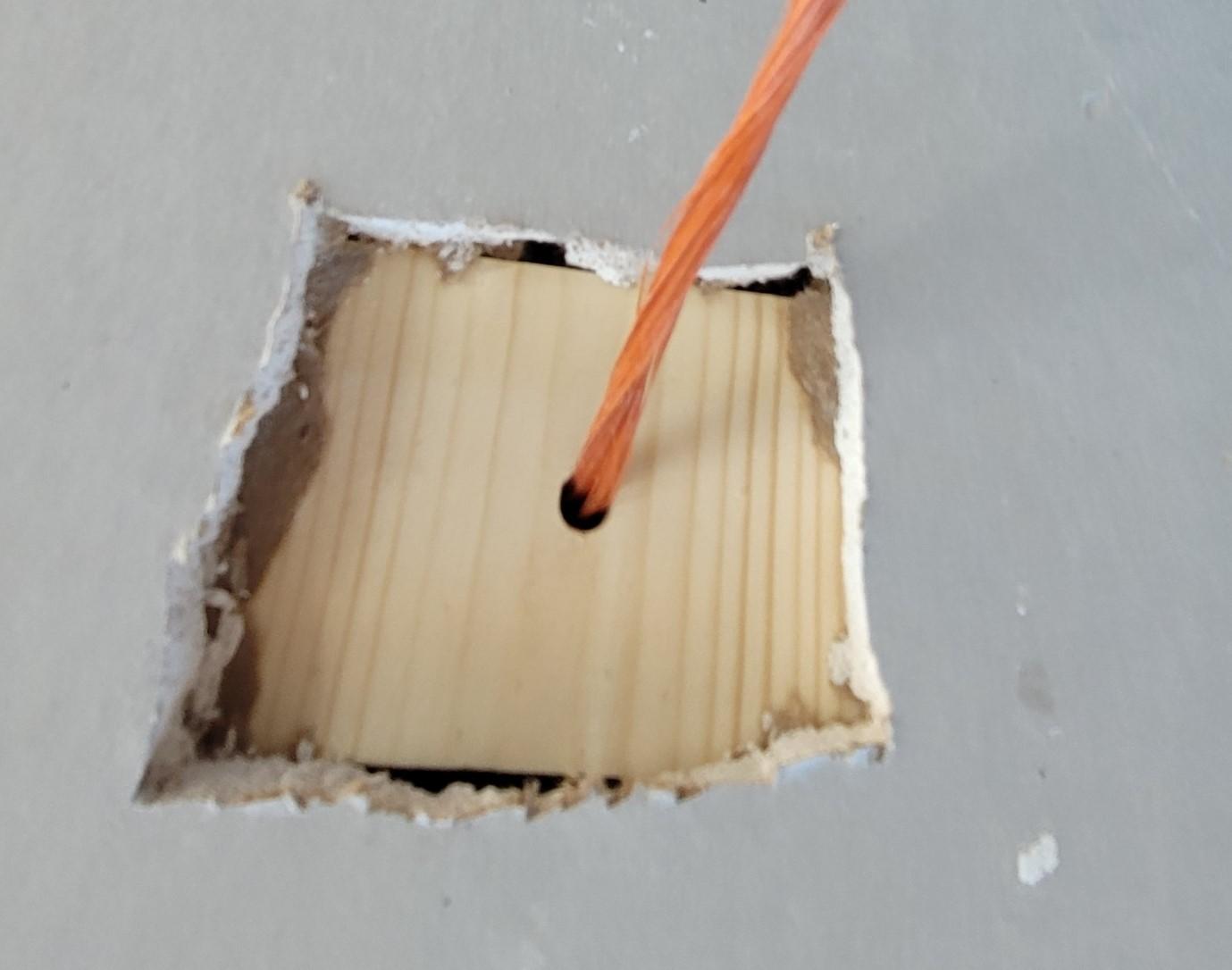 sheetrock repair gypsum wallboard