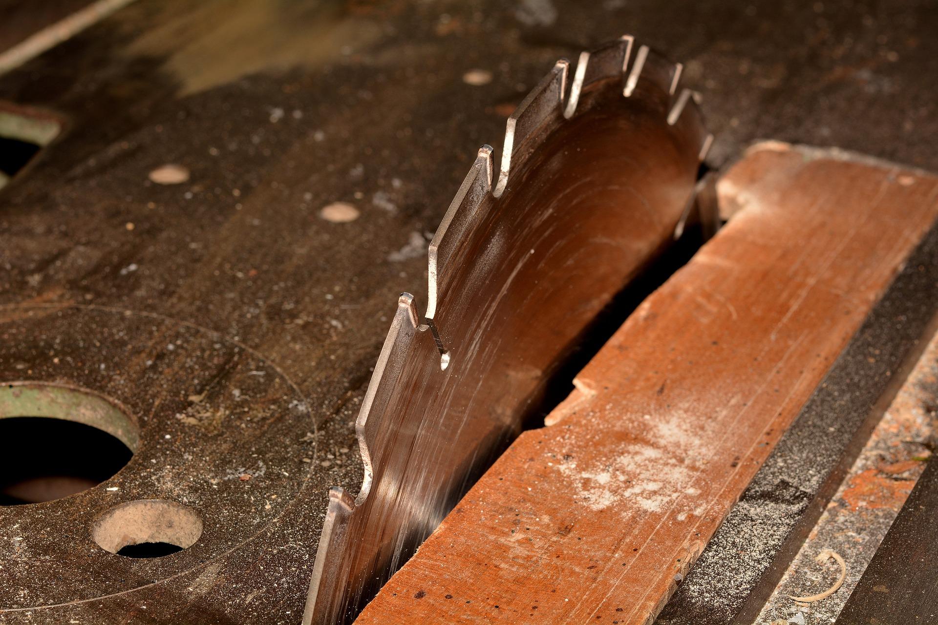 Sharpened Saw Blade