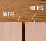 How to Prevent Tearout and Splintering When Cutting Plywood, Once and For All