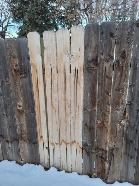 cedar fencing pickets