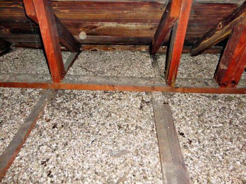 vermiculite in attic