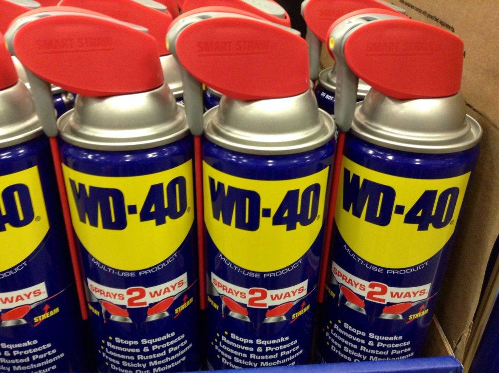 cans of WD-40
