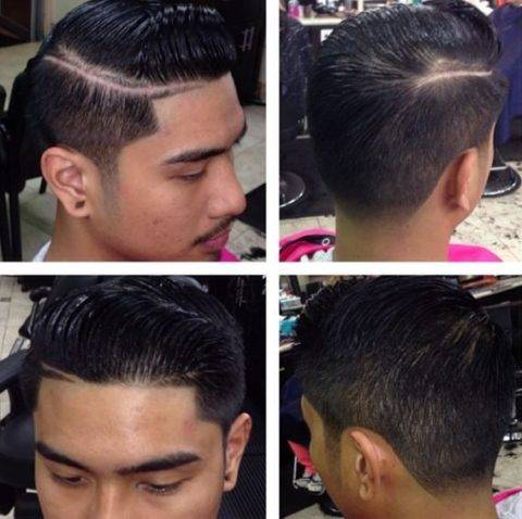 #2 sides taper haircut