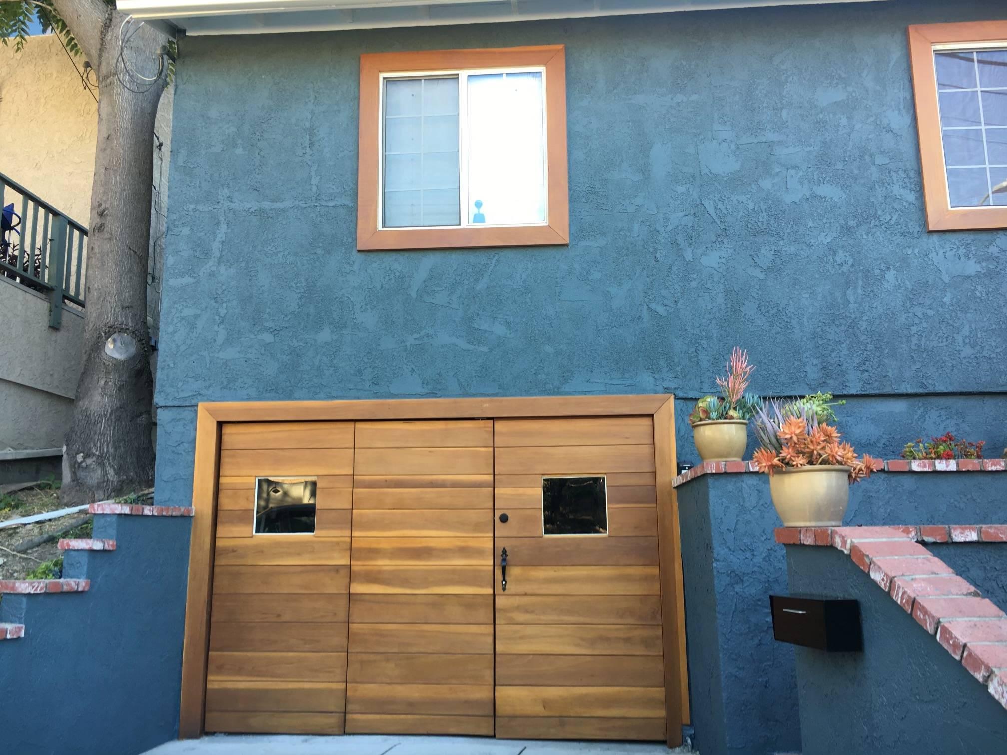 Newly Installed Bi-Fold Garage Doors