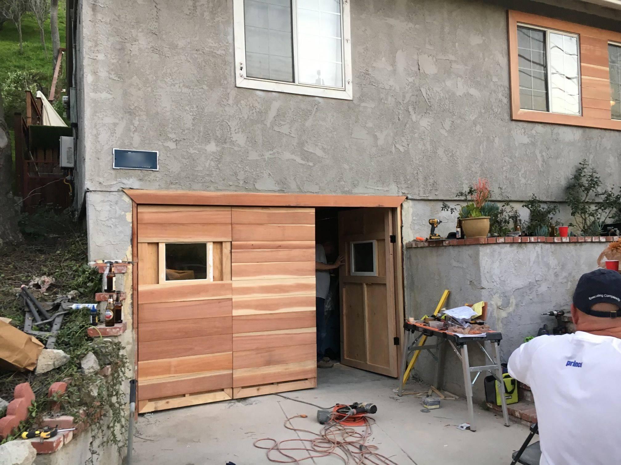 Bi-fold Garage Door Panels
