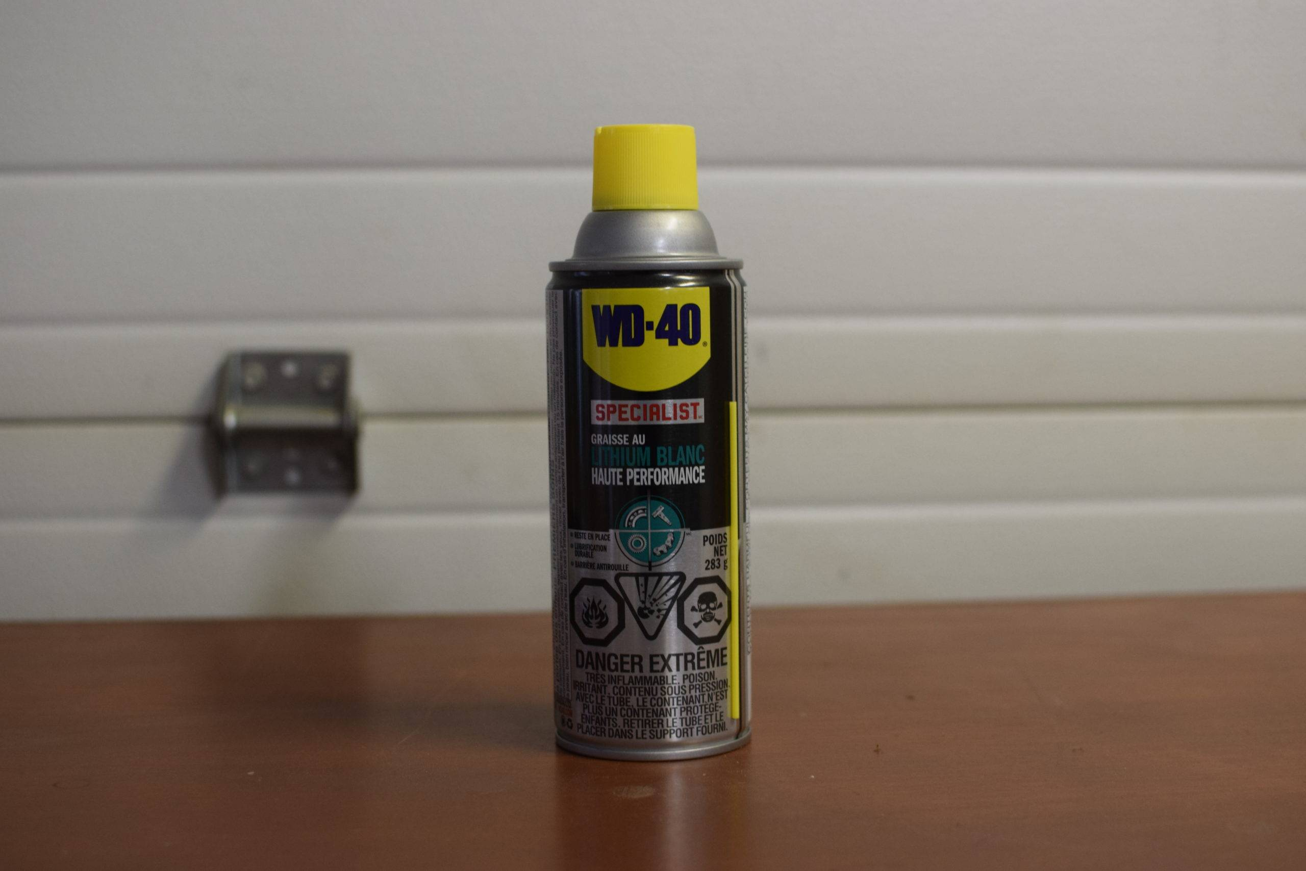 Bottle of lubricant