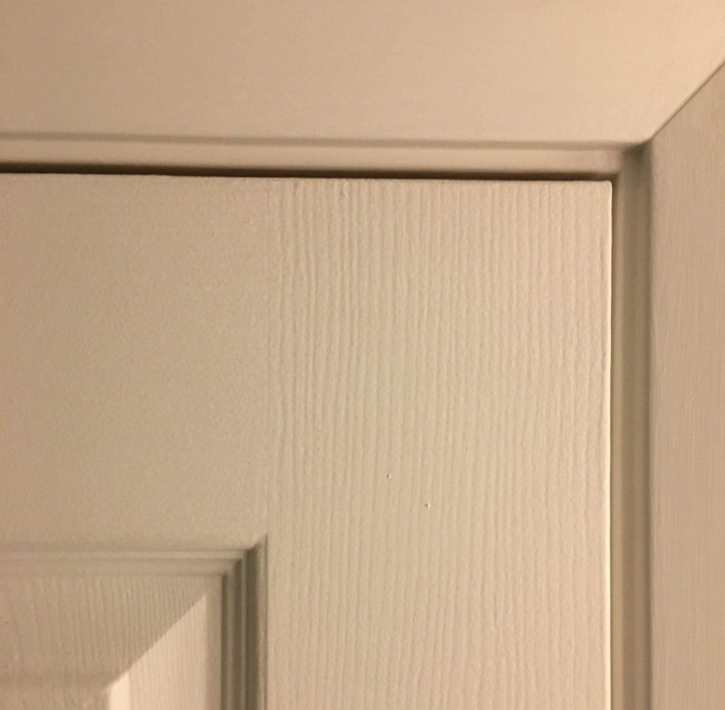 door properly fit to frame