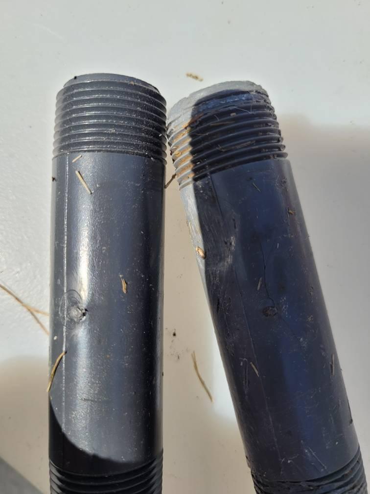 lawn pvc plastic pipe