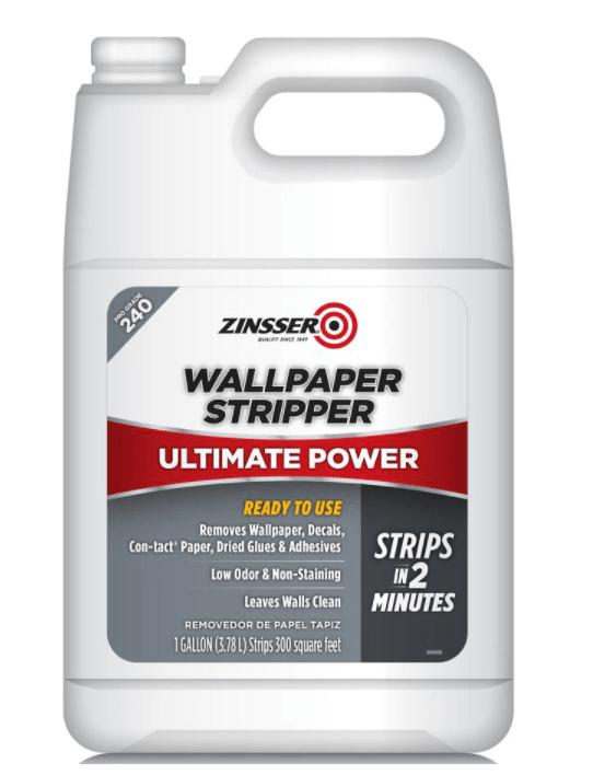 Zinsser wallpaper stripper