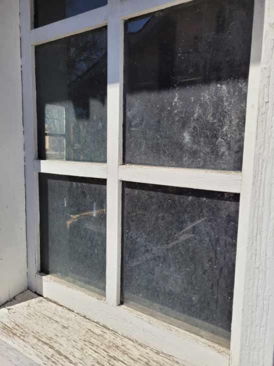 glazed window