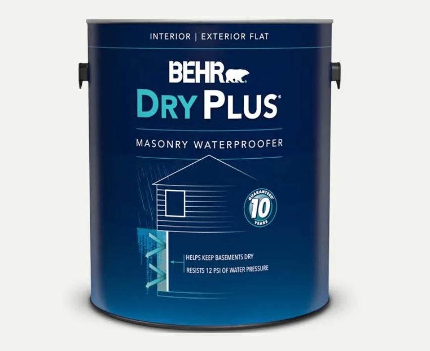 BEHR Dry Plus Masonry and Concrete Sealer