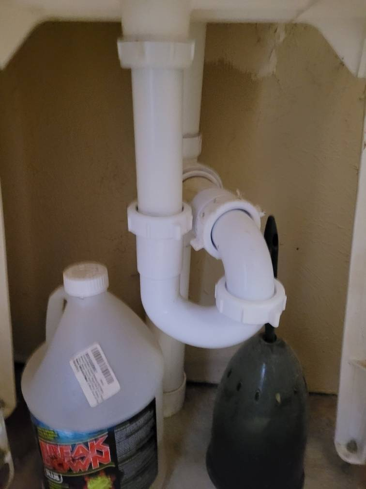 sewer trap plumbing