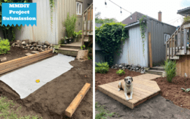 ManMade's Submit A Project Series: DIY Garden Boardwalk